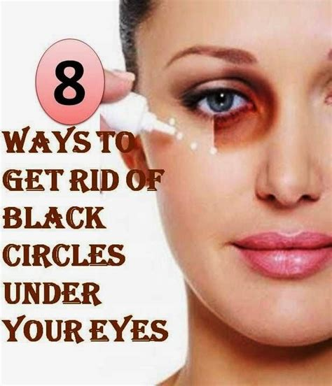 Get Rid Of Eye Circles Right In The Comfort Of Your Own Home by 8 Ways To Get Rid Of Black Circles Your Diy