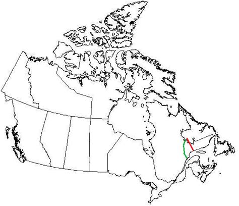 canadian map without labels labradore december 2010