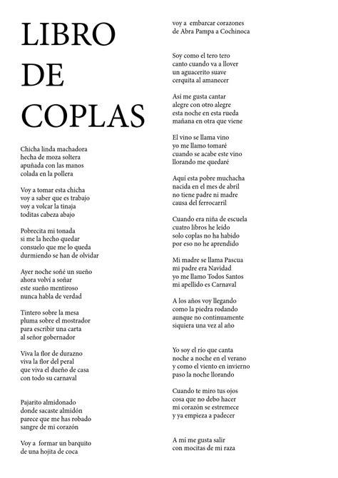 coplas para el cesino libro de coplas by carlos ramos issuu