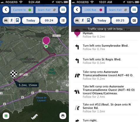 nokia maps nokia launches here maps for iphone and imore