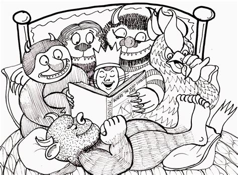 where the wild things are coloring pages free coloring home