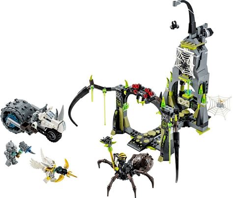 Sale Lego Legends Of Chima 70133 Spinlyn S Cavern lego 70133 chima spinlyn s cavern building block