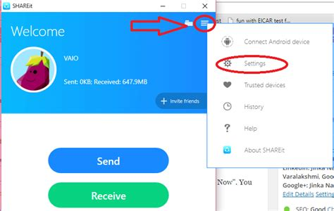 how to use clicker for how to use shareit on pc to transfer files to from mobile