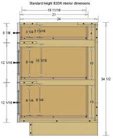 kitchen cabinet drawer dimensions pinterest the world s catalog of ideas