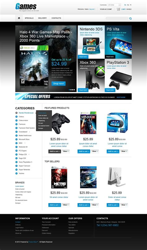 themes in computer games computer games prestashop theme 43053