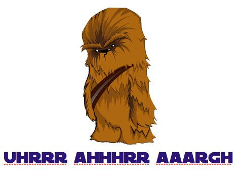 Chewbacca Birthday Card Star Wars Chewbacca Printable Happy Birthday Card By Geektank