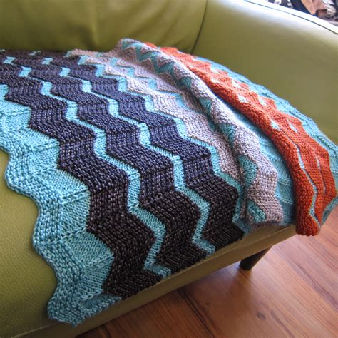 chevron baby blanket knitting pattern the walt painted chevron baby blanket fibre space