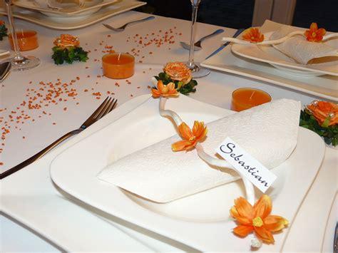 Tischdeko Hochzeit Orange by Mustertische In Orange Zur Hochzeit Taufe Oder Kommunion