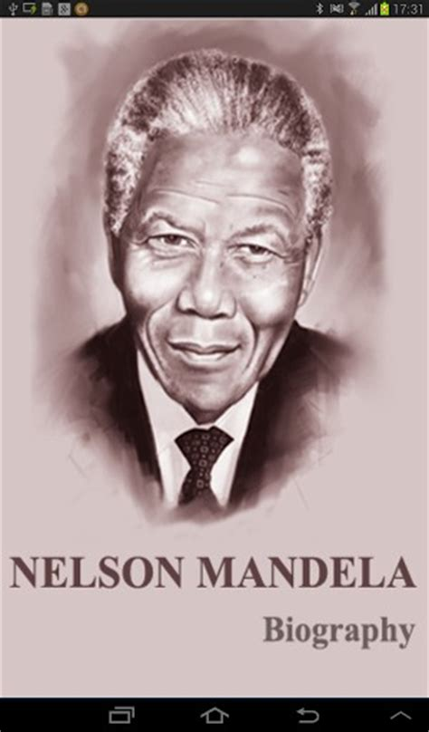 biography about nelson mandela life download nelson mandela biography for android by