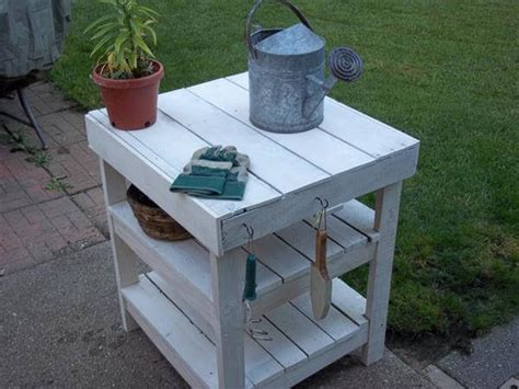 bbq bench diy pallet garden workbench bbq table 101 pallets