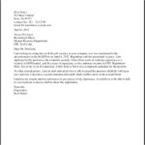cover letter for security officer business administration cover letter sle free sles