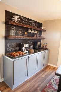 home coffee bar 40 ideas to create the best coffee station decoholic