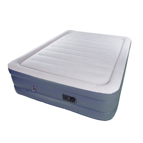 kmart air bed stansport double high deluxe air bed built in pump