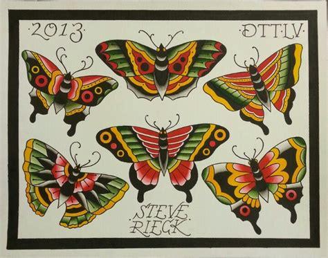 classic tattoo las vegas butterfly flash by steve rieck las vegas tattoos