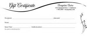 Dinner Certificate Template Free by Dinner Gift Certificate Marketing Archive