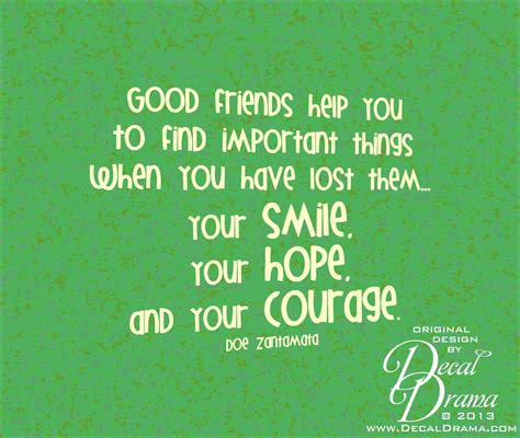 Things Find Decal Drama 183 Friends Help You Find Important Things Your Smile Courage