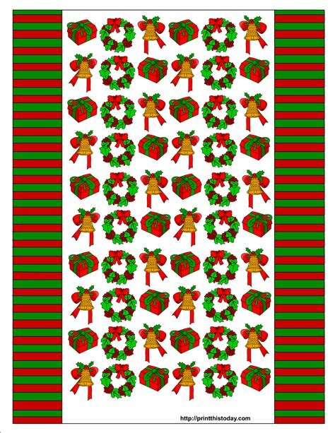 Printable Wrappers | free printable christmas candy wrappers