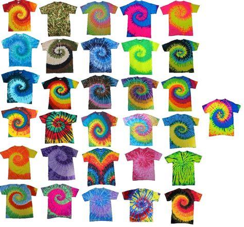 tie dye colors multi color tie dye t shirts s m l xl 2xl 3xl 4xl