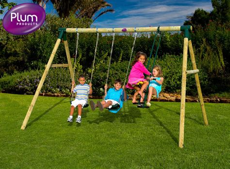 kid swing set wooden swing sets for