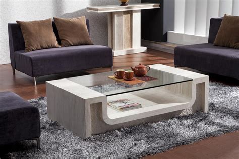 stone coffee tables with modern style travertine coffee table design style ideas and tips