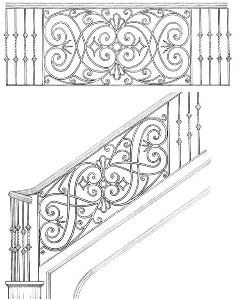 Staircase Banister Designs Wrought Iron Originals Iron Railings For Stairs Buy