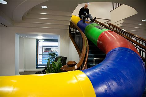 Google Office Playroom search in pictures google indoor slide yahoo girl coders