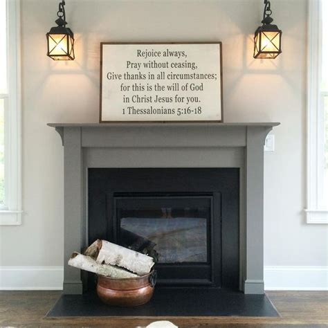 popular painting tile around fireplace ideas myideasbedroom com gauntlet gray mantles and colors on pinterest