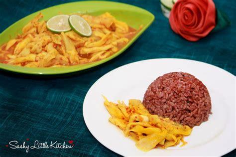 jamur tiram bumbu kuning sashy  kitchen food