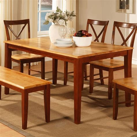 two tone dining room sets furniture gt dining room furniture gt cherry gt 2 tone cherry