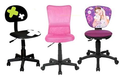 chaise bureau fille chaise de bureau pour fille mobilier de bureau design