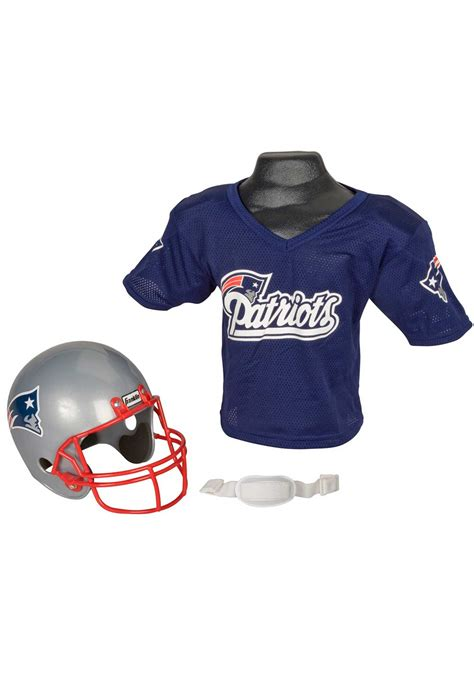 new england patriots l child nfl new england patriots helmet and jersey set