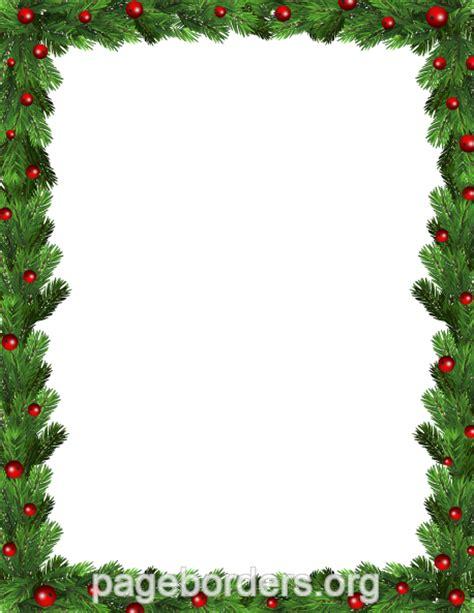 printable christmas borders for word printable green christmas border use the border in