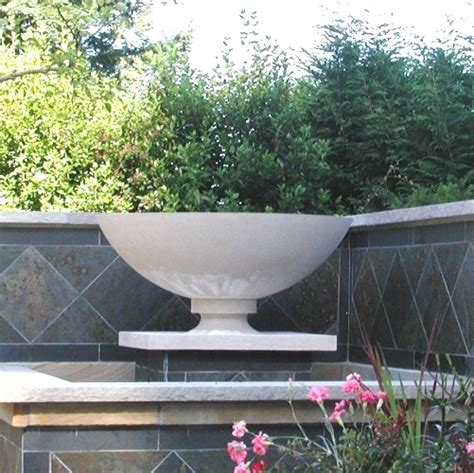 Frank Lloyd Wright Planter by Frank Lloyd Wright Sandstone Garden Planters Made In America 5 Color Choices Ships