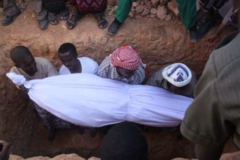 how to bury a the burial procedure