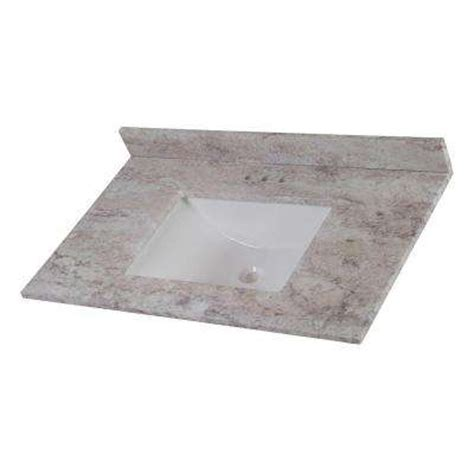 49x22 Bathroom Vanity Top by Vanity Tops Bathroom Vanities The Home Depot