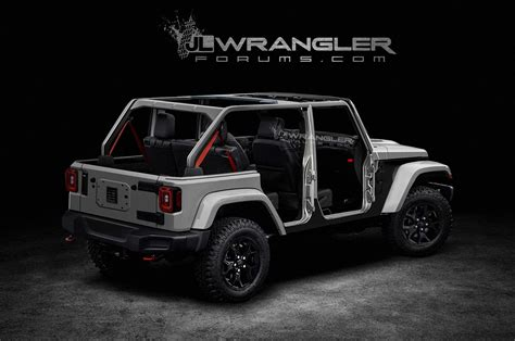 jeep unlimited 2018 2018 jeep wrangler unlimited previewed in unofficial