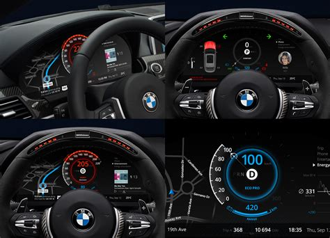bmw dashboard car dashboard ui collection denys nevozhai medium