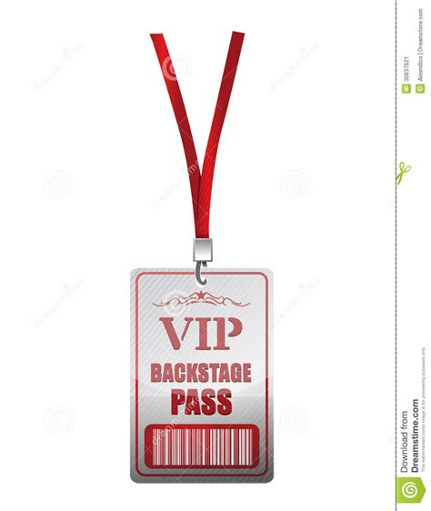 only fans free access backstage pass illustration design stock image image