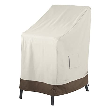 AmazonBasics Stackable Chair Patio Cover   Patio Furniture