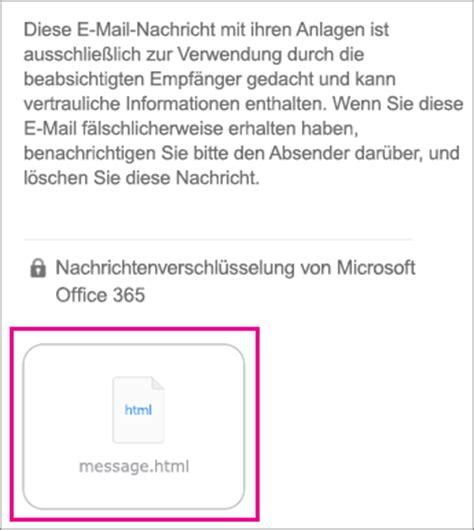 Office 365 Outlook Keine Verschlüsselte Verbindung Anzeigen Verschl 252 Sselten Nachrichten Auf Ihrem Iphone