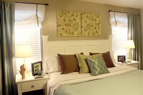 ideas for a headboard thrifty decorating how to make a louver door headboard