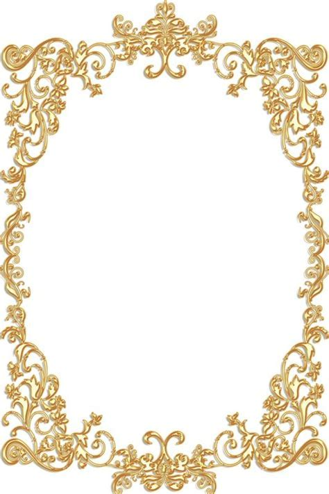 Rose Gold New Year Border ? Festival Collections