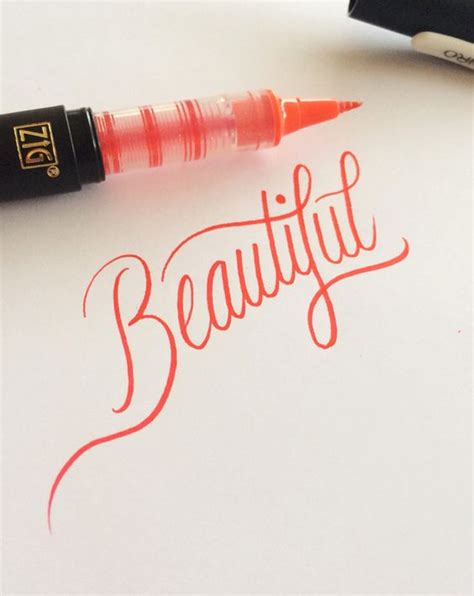 tattoo calligraphy pen pen refills pens and lettering on pinterest