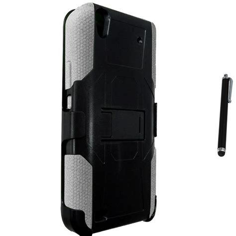 rugged pen for zte quartz z797c heavy duty rugged stand belt clip holster stylus pen ebay