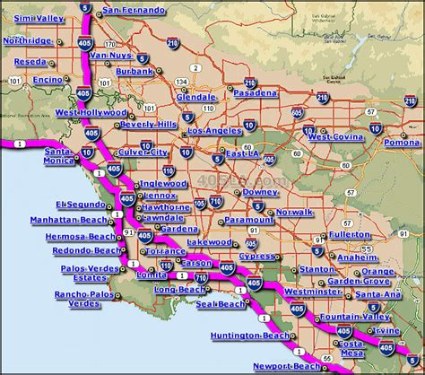 Pch Highway - california pacific coast highway map california map