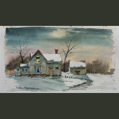 watercolor tutorial winter 330 best images about houses illustrations on pinterest