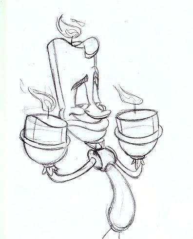 Sketches O Que é by Cartoonimation La Y La Bestia Desenho P Colorir