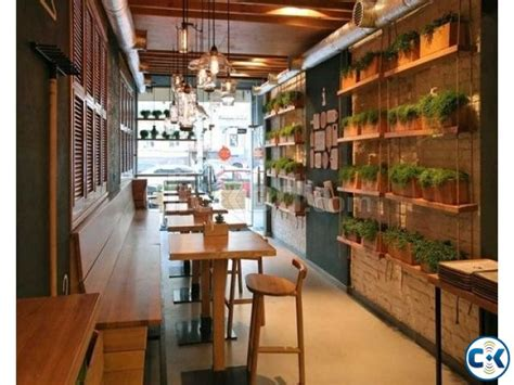 small restaurant interior design small fast food restaurant interior design ideas f wall