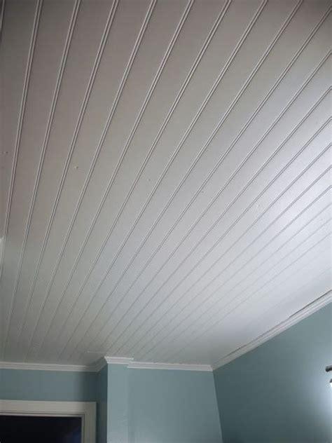 Wainscoting On Ceiling by Vinyl Beadboard Ceiling In Bathroom Cm Shaw Studios