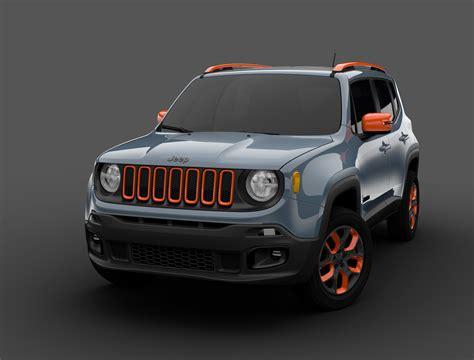 Www Jeep Cars 2015 Jeep Renegade Receives Mopar Goodies For 2015 Detroit